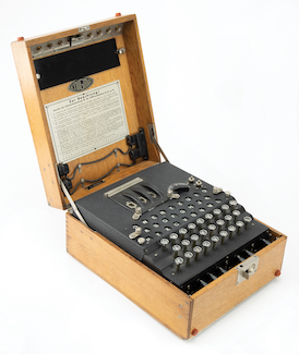 Codebreakers: RR Auction to offer working Enigma machine, May 12