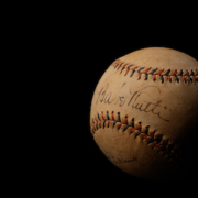 1930s Babe Ruth- and Lou Gehrig-signed Babe Ruth Home Run Special Spalding baseball, estimated at $10,000-$15,000