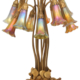 Tiffany Studios 12-light Lily table lamp, estimated at $30,000-$50,000