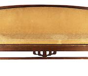 Greene & Greene circa 1914 mahogany couch, estimated at $80,000-$120,000