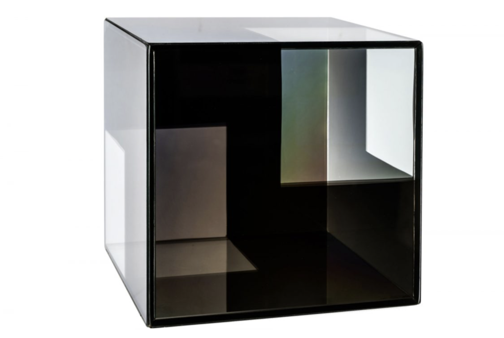 Larry Bell, 'Cube,' estimated at $8,000-$10,000