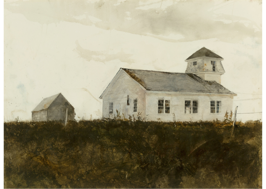 Andrew Wyeth, 'St. George,' which sold for $250,000