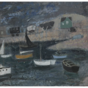 Anne Redpath, 'The Harbour, Dublin,' estimated at £10,000-£15,000