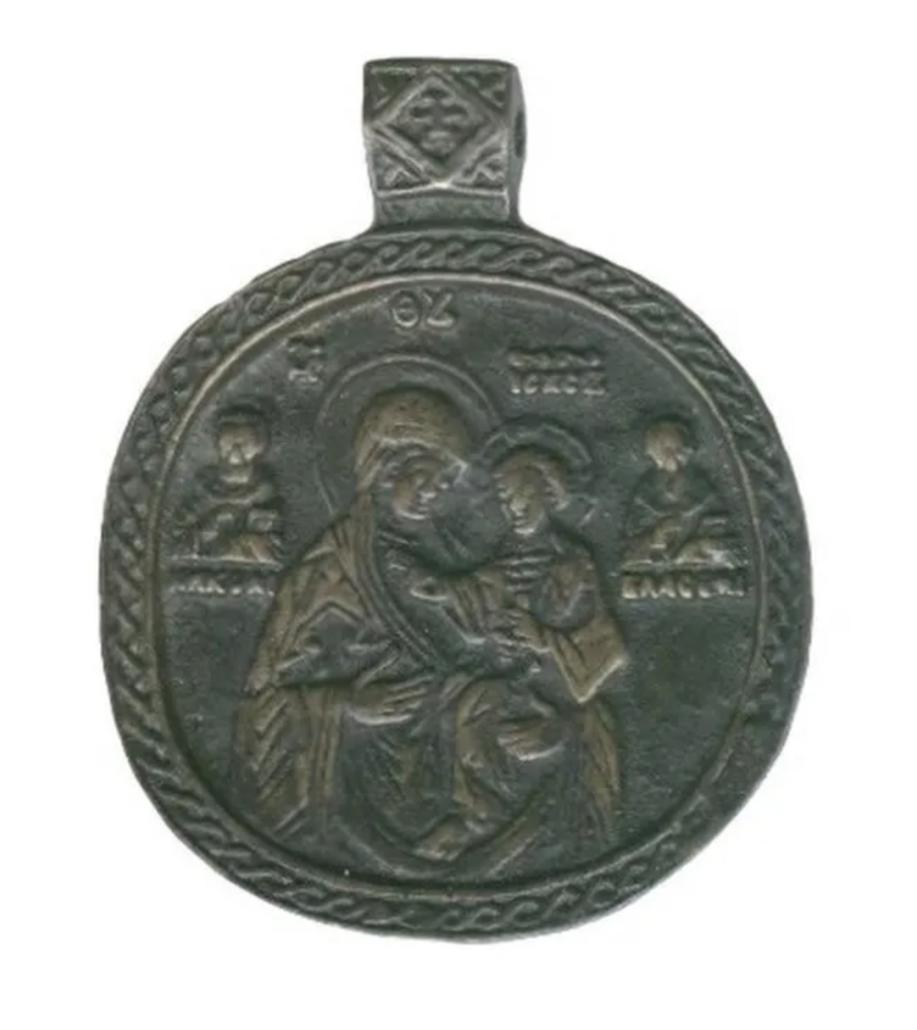 Bronze icon of the Virgin Hodegetria, estimated at $5,000-$6,000