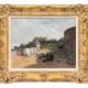 Edmond-Louis Dupain, 'La Plage a Saint-Malo,' estimated at $3,000-$5,000