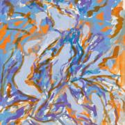 Elaine de Kooning, 'Bacchus,' estimated at $10,000-$15,000