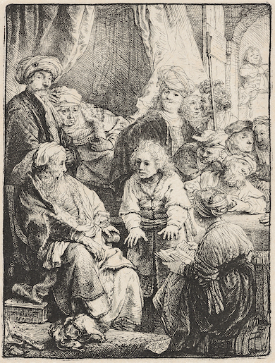 Rembrandt propels Swann May 6 prints auction to $1.8M