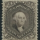 USA 1875 #109 24c Deep Violet XF MPH, estimated at $8,000-$9,000