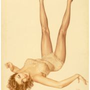 Alberto Vargas, 'Mara Corday, True Girl,' February 1952, which sold for $100,000