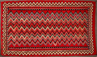 Navajo rug was a vibrant addition to Holabird's 5-day sale