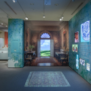 Exhibition display from Outside In: Nature-inspired Design at Winterthur
