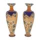 Pair of Royal Doulton Nasturtium vases, estimated at $500-$700