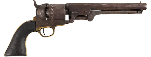 Scarce Confederate revolver featured in Heritage June 6 auction