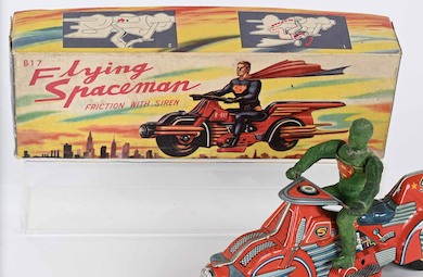 Collectors aimed high for robots, Disney toys at Milestone auction