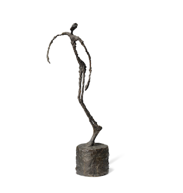 Important Giacometti bronze aims for £12-£18M at Christie's London