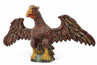 Wilhelm Schimmel eagle carvings fly to the top of the folk art market