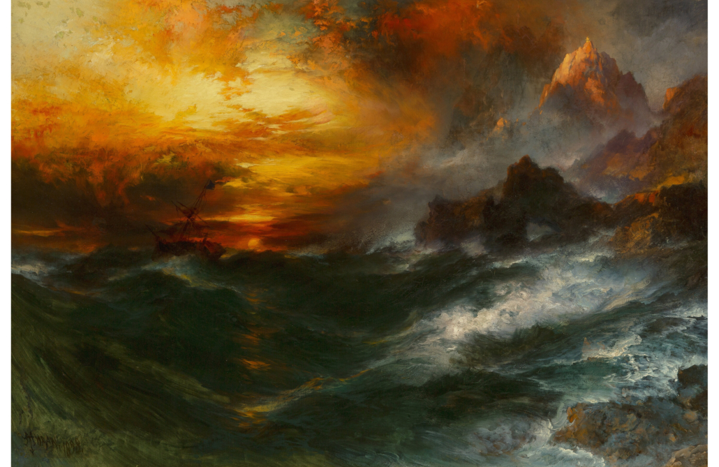 Thomas Moran, 'A Mountain of Loadstone-Arabian Nights,' which sold for $375,000