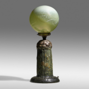 Monumental Tiffany Studios Dandelion lamp, which sold for a record $3.7 million