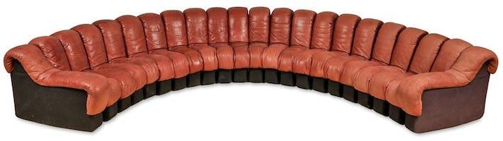 De Sede's 'Non Stop' sofa enjoys endless popularity