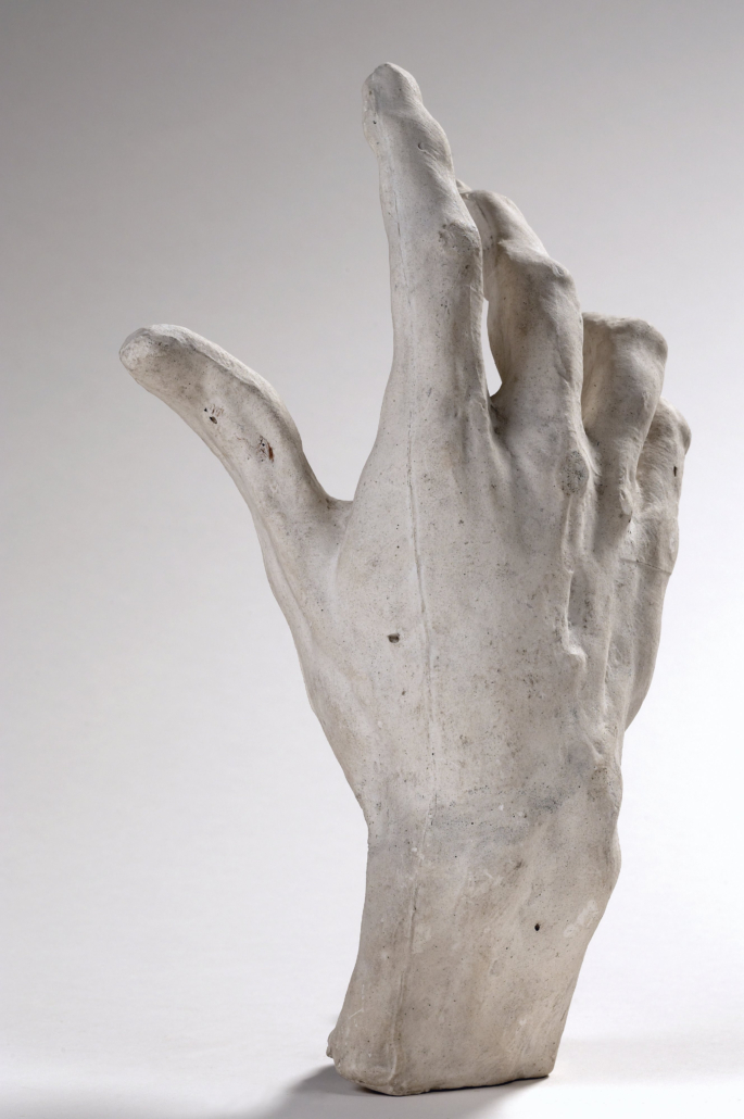 Auguste Rodin, 'Right hand of Pierre and Jacques de Wissant,' 1885–86, Musee Rodin, S.00332