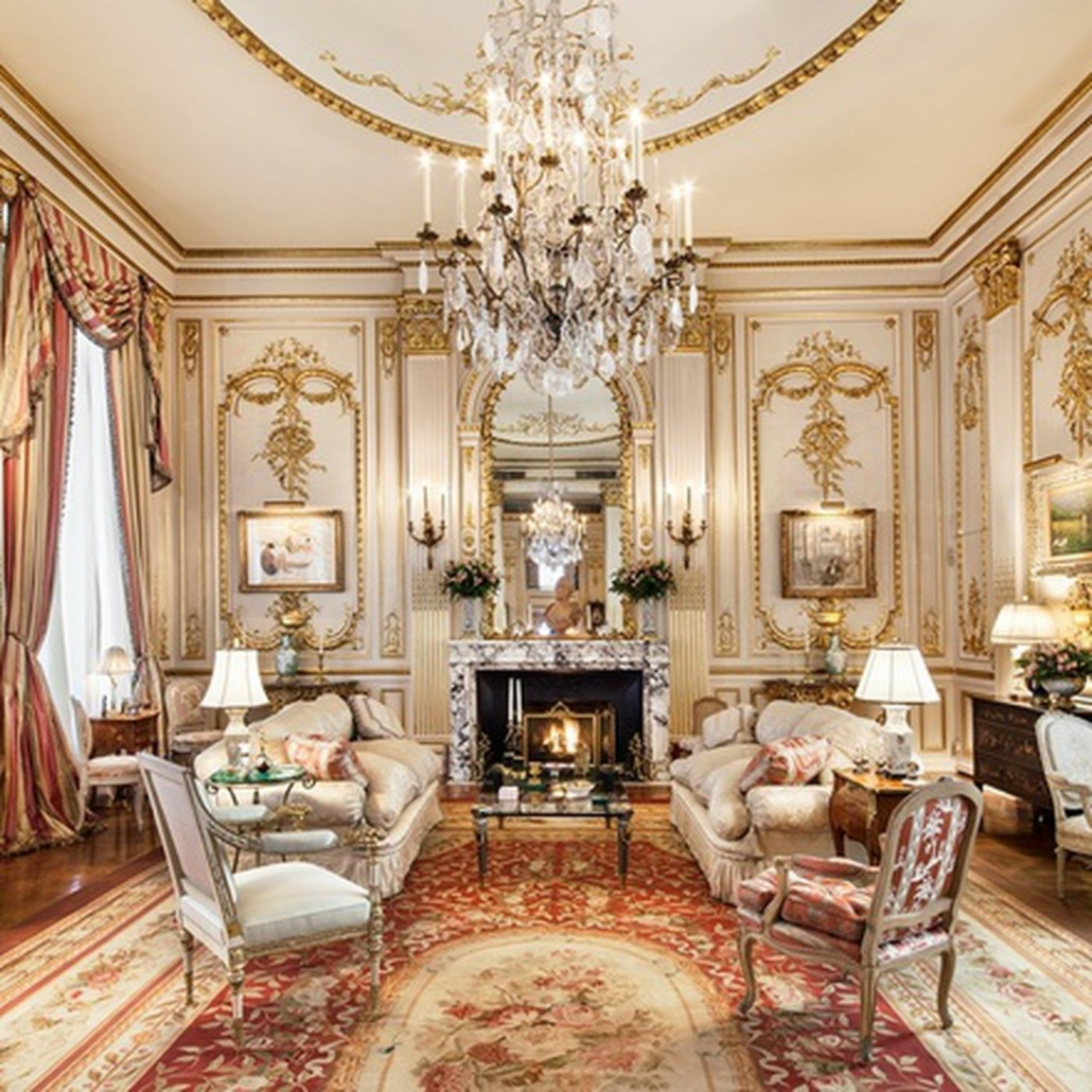 Lavish interior from the penthouse of the late Joan Rivers, which is for sale for $38 million. Photo credit: Corcoran. Courtesy of TopTenRealEstateDeals.com