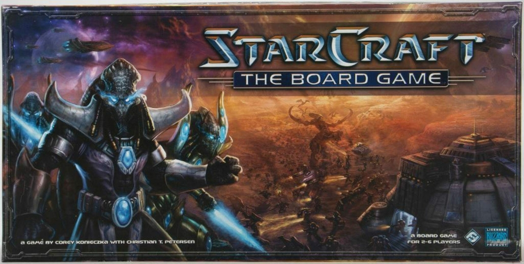 Star Craft: the Board Game, estimated at $100 - $200
