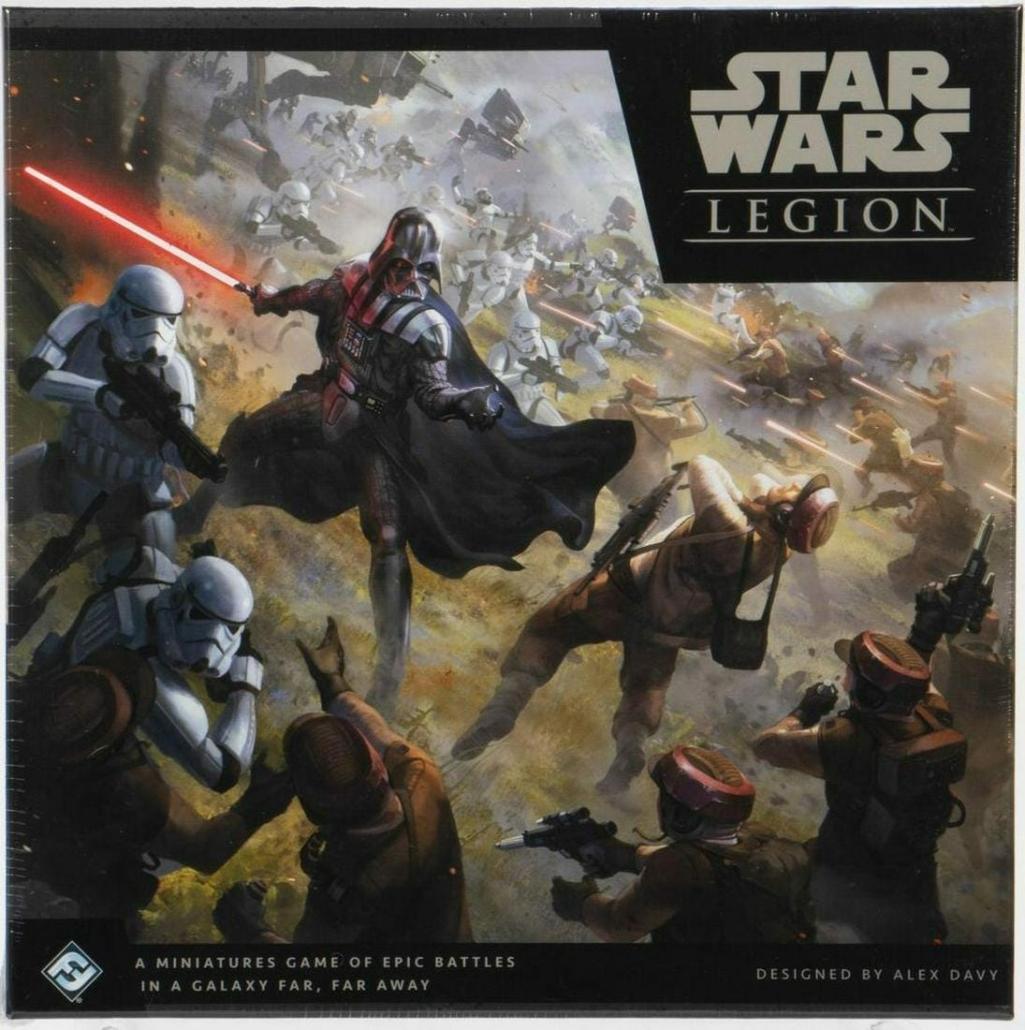 Sealed copy of Star Wars: Legion, estimated at $30 - $50
