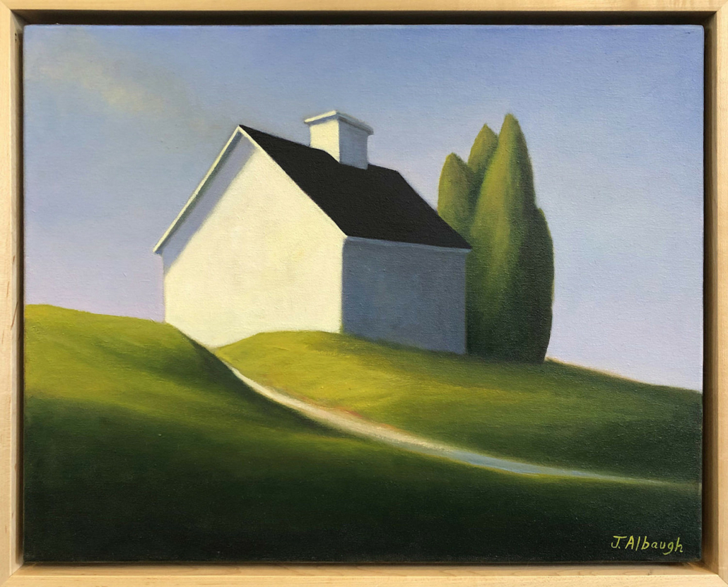 Joan Albaugh, 'A Path to Summer,' estimated at $3,500-$4,500