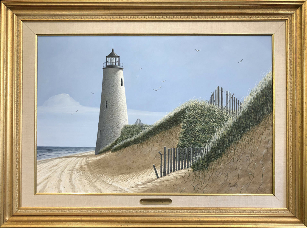 James Cromartie, 'Nantucket's Great Point Lighthouse,' estimated at $3,000-$5,000