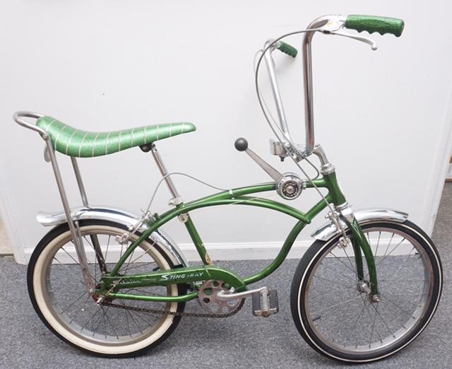All-original 1968 Schwinn Sting Ray bicycle, estimated at $900-$1,200