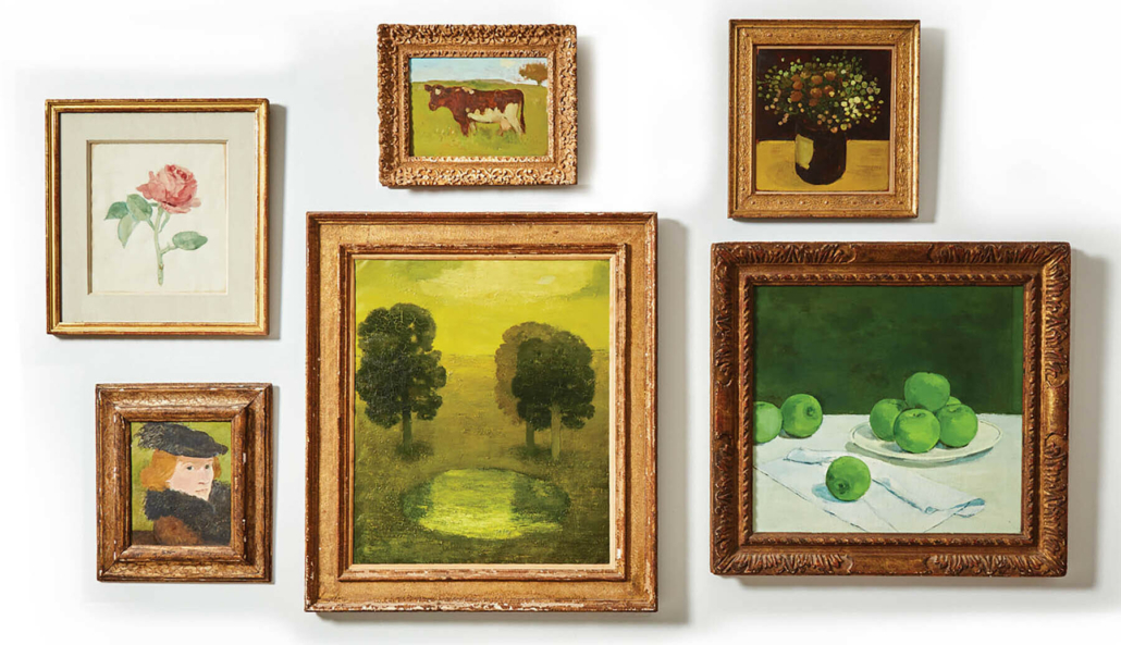 Freeman's will offer six works by Albert York —an unusually large selection — in its June 6 auction.