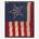 Civil War-era 34 shooting star pattern American flag, estimated at $30,000-$50,000