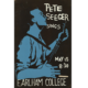 Possibly unique 1962 Pete Seeger poster, estimated at $750-$1,500