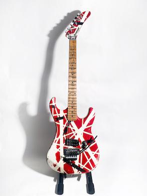 Iconic Eddie Van Halen guitar headlines Guernsey's July 14-15 auction