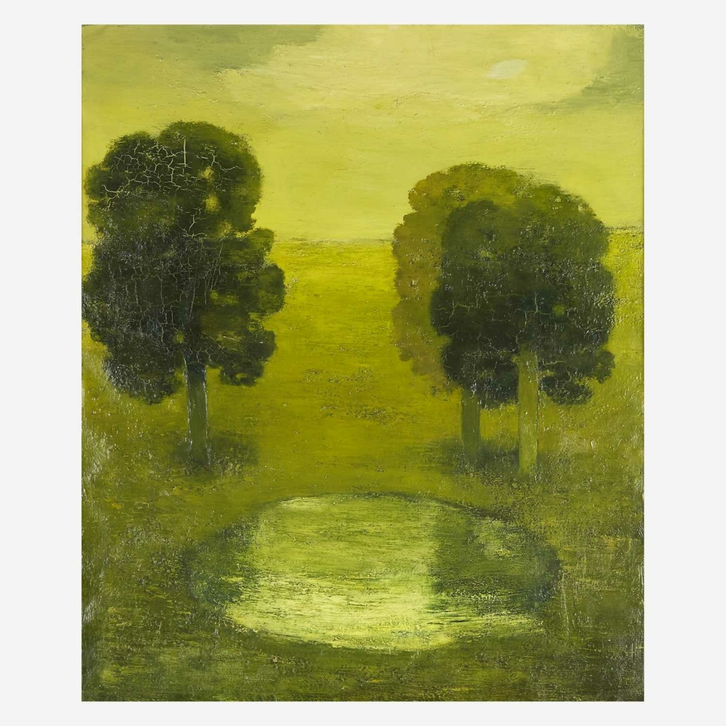 Albert York, 'Reflections in the Pond,' estimated at $60,000-$100,000