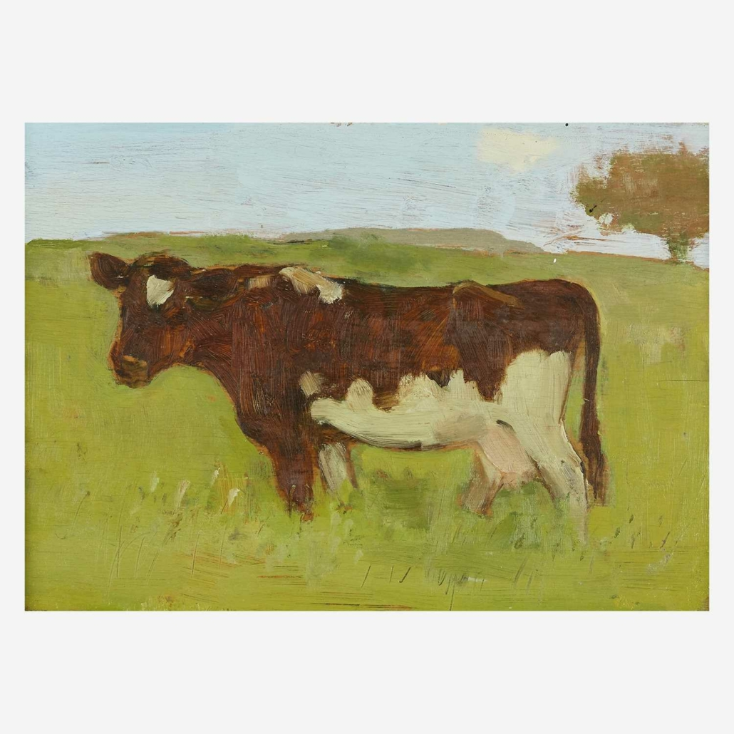 Albert York, 'Cow,' estimated at $15,000-$25,000