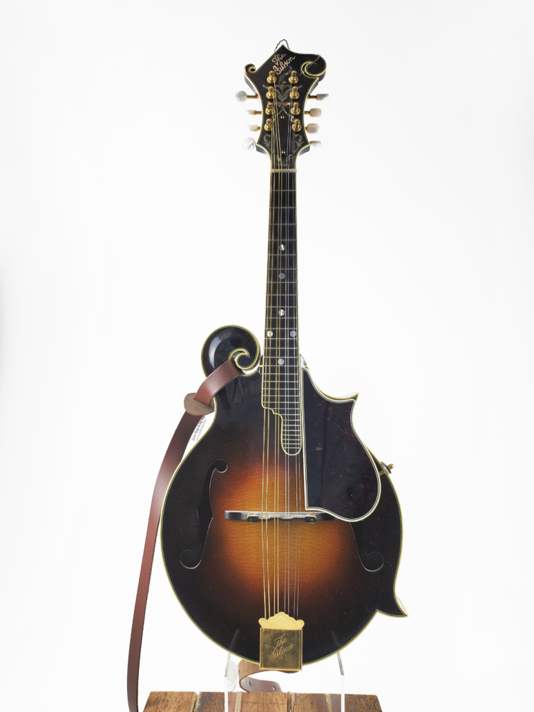Gibson mandolin from the Meisel collection, estimated at $15,000-$20,000