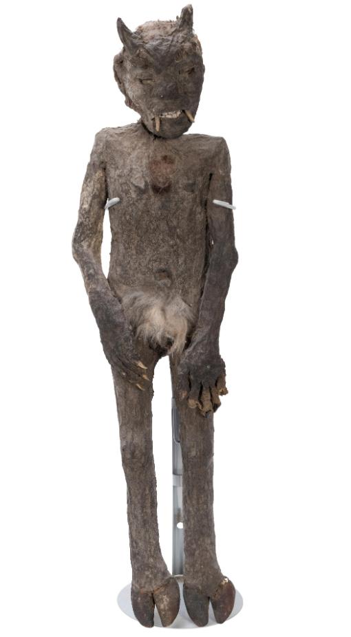 Homer Tate's Devil's Child sideshow exhibit, estimated at $1,500-$2,500