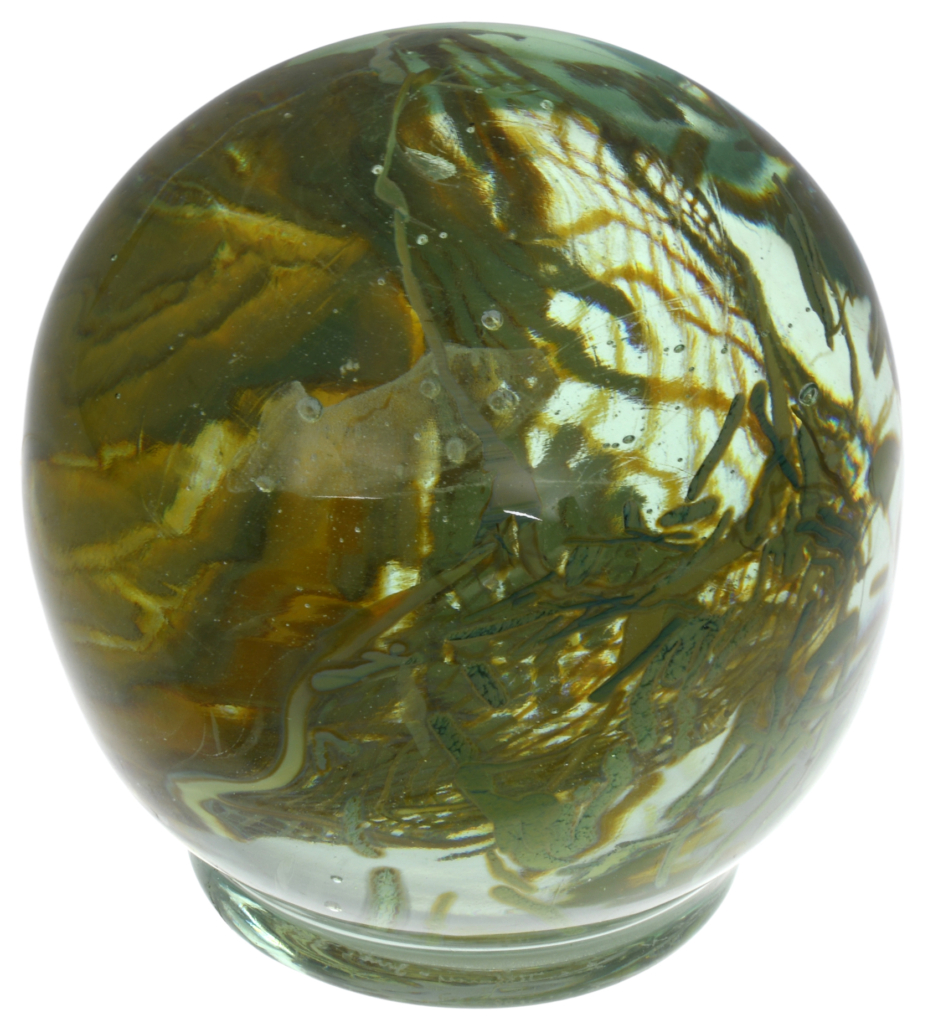 Tiffany Studios Aquamarine paperweight, which sold for $50,820
