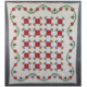 Appliqued quilt created between 1860 and 1870, estimated at $2,000-$2,500