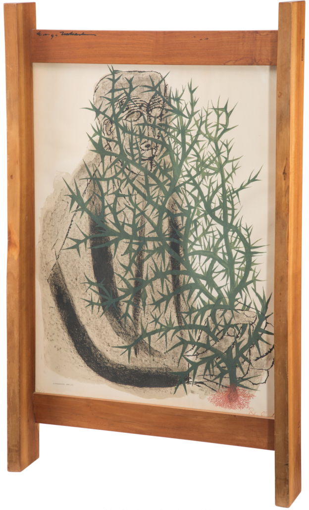 Ben Shahn, 'Blind Botanist with George Nakashima Frame,' estimated at $4,000-$6,000