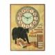 Black Cat Shoe Polish clock, estimated at CA$9,000-$12,000