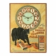 Black Cat Shoe Dressing clock, known to collectors as 'The Black Cat Clock,' which sold for CA$11,210
