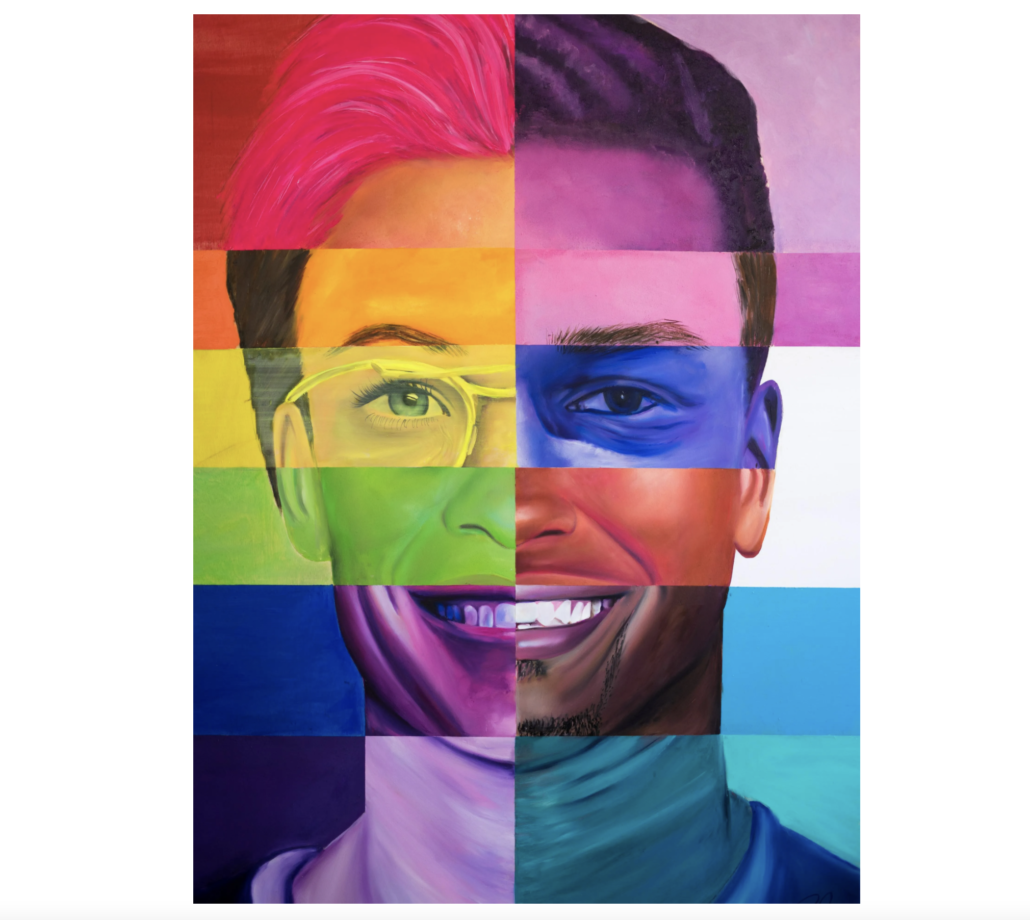 'Pride in Changing the Game,' estimated at $8,000-$12,000.