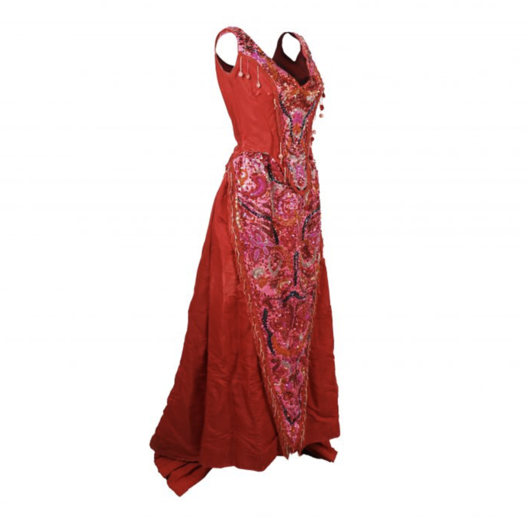 Carol Channing stage-worn Dolly Levi costume from 'Hello, Dolly!', which sold for $23,740