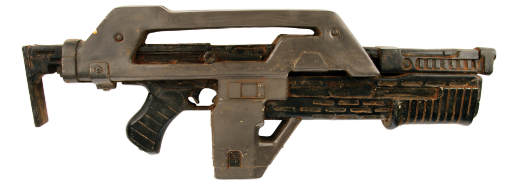 Colonial Marines stunt pulse rifle from 'Aliens,' estimated at $1,000-$1,000,000