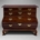 Mahogany and white pine bombe chest of drawers made in Boston circa 1770