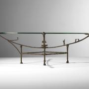 Diego Giacometti's Carcasse a la Chauve-Souris table, estimated at $300,000-$500,000