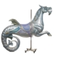 Seahorse carousel figure by E. Joy Morris, estimated at $20,000-$30,000