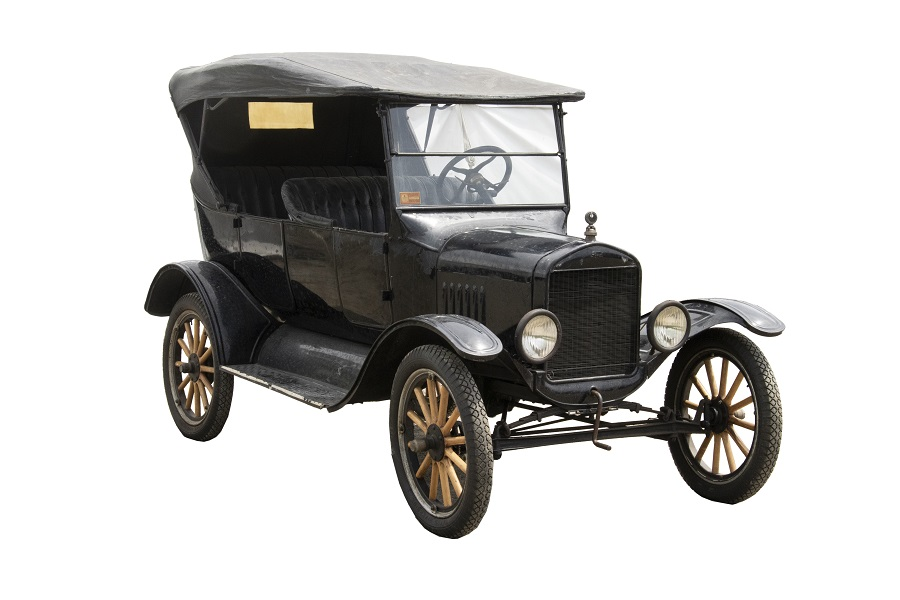 1924 Ford Model T touring car, estimated at $6,000-$8,000